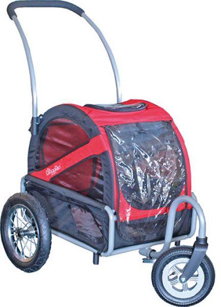 doggy ride buggy mini rood/zwart #95;_