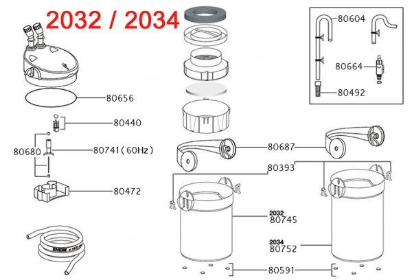 Eheim Eheim filterpot voor 2231 2232