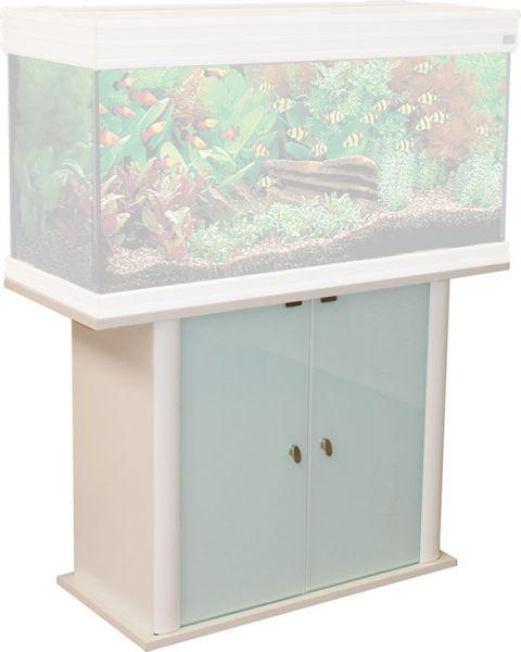 Adm meubel evasion 2 glazen deuren wit