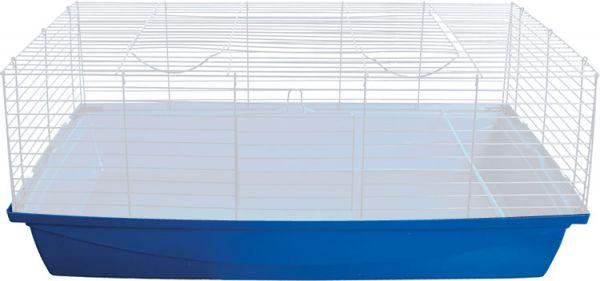 Afbeelding Mps onderbak voor konijnenkooi blado blauw 100x50 cm