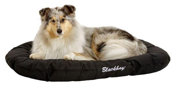 karlie hondenkussen ovaal blackbay zwart #95;_100 cm