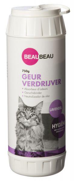 Beau beau kattenbak geurverdrijver lavendel