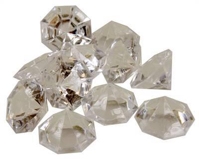 Aquarium diamanten transparant